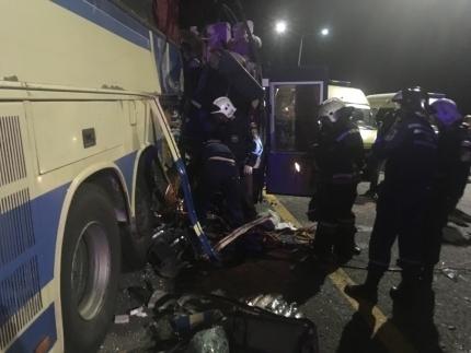 Пострадавших в ДТП с автобусами под Воронежем увезли в две больницы