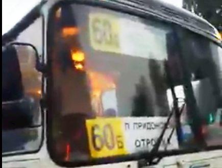 ВВоронеже драка водителя ипассажира автобуса угодила навидео