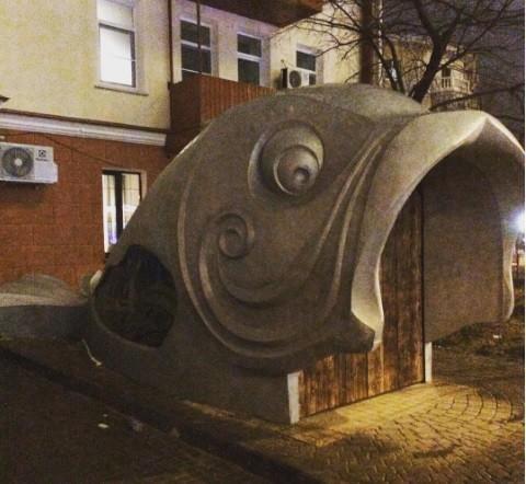 От алюминиевой рыбы в центре Воронежа знаменитый дом-гармошка может развалиться на части