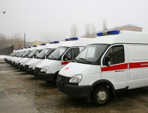 В районные больницы Воронежской области закупят кареты «скорой помощи» за 40 миллионов рублей