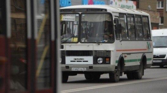 Воронежцы сообщили, как маршрутчики в очередной раз устроили гонки