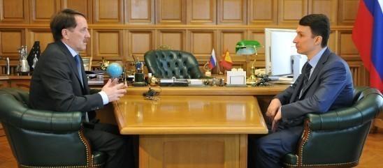 Губернатор Воронежской области встретился с Геннадием Чернушкиным