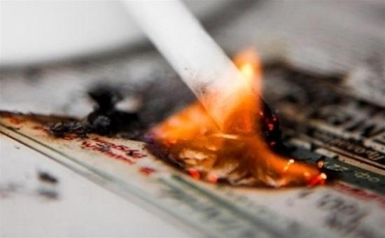 ВВоронежской области двое мужчин погибли из-за неосторожности при курении