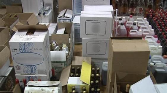 Подпольное производство контрафактного алкоголя устранено вВоронежской области, возбуждено уголовное дело