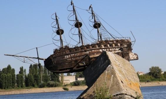 Памятник баркалону «Меркурий» в Воронеже могут отправить на реставрацию