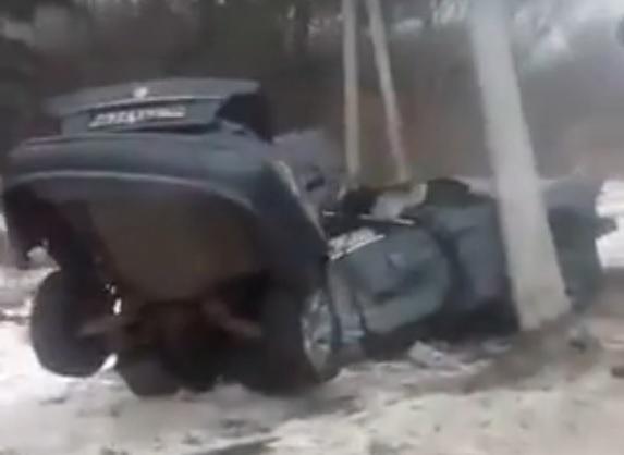 Ужасающие последствия аварии на трассе Курск – Воронеж попали на видео