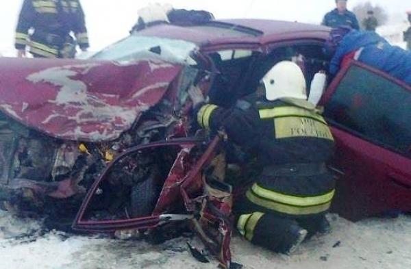 Шофёр «Волги» умер вмассовом ДТП под Воронежем