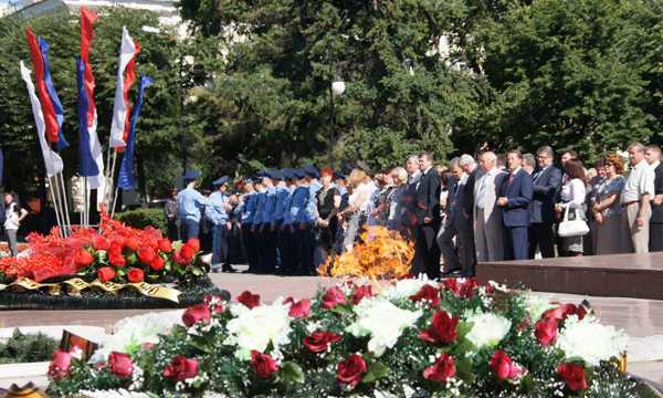 В Воронеже День памяти и скорби начнется с поминального богослужения