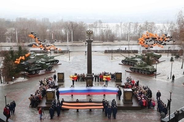 Герои СССР отметили Воронеж почетным знаком «за патриотизм»