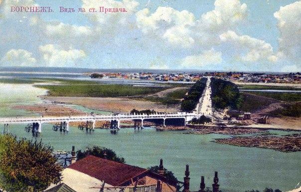 Чернавский мост времен Царской России показали воронежцам