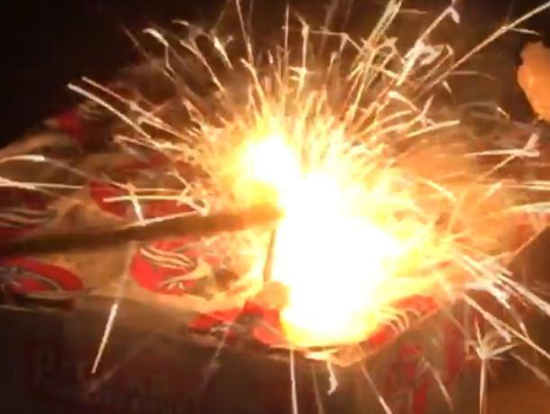 Воронежцам рассказали, как не испортить Новый год фейерверком