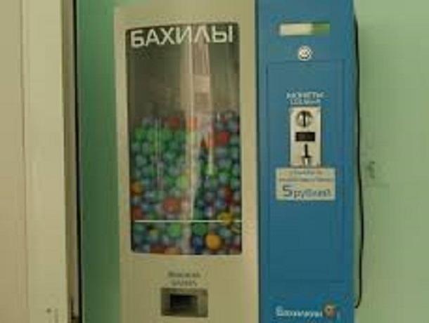 Бетонщик похитил  изворонежской клиники  автомат для выдачи бахил
