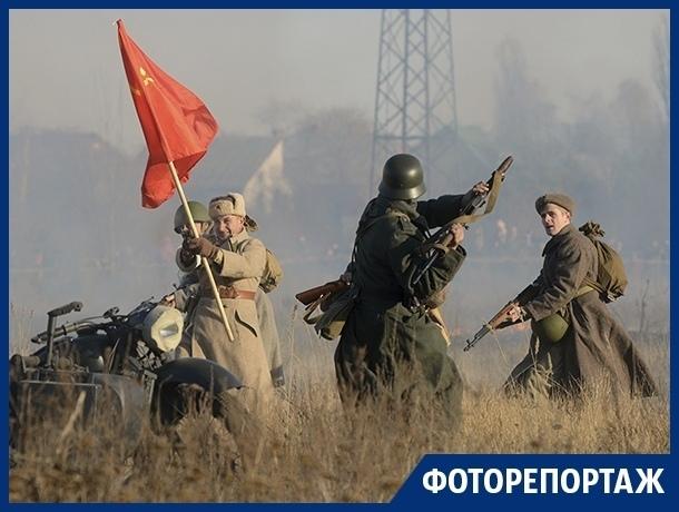 Эффектное уничтожение немецких войск произошло под Воронежем