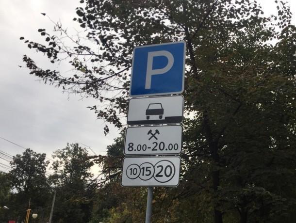 Адскую давку в автобусах Воронежа связали с платными парковками