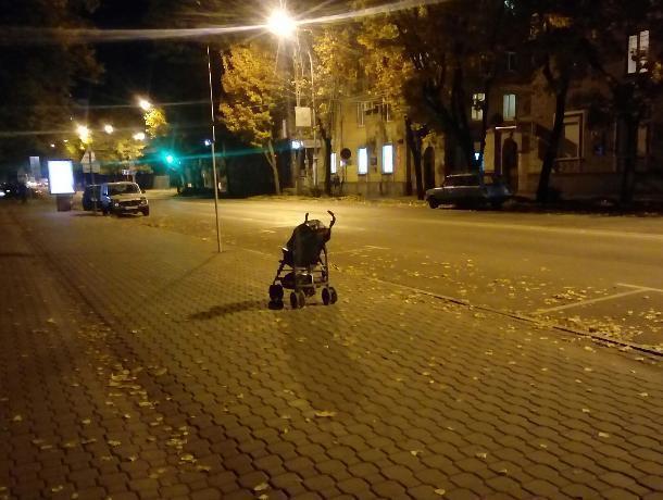 Коляска из фильма ужасов ждет ребенка в центре Воронежа