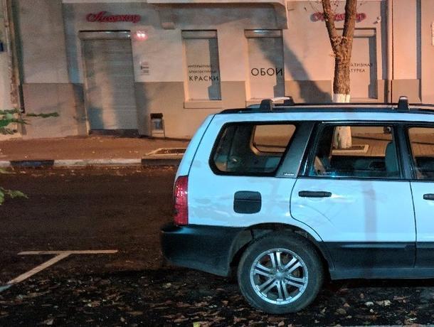 Воронежцы возмущены размером  парковочных мест