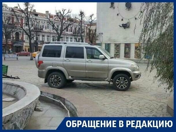 Платные парковки спровоцировали надругательство над центром Воронежа