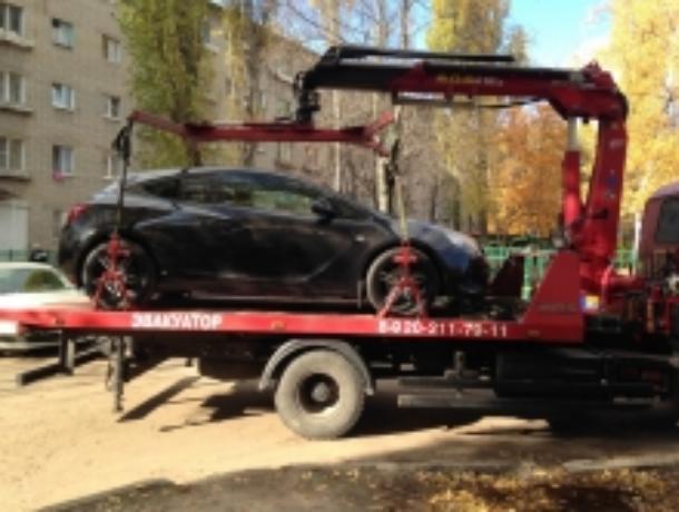 Уворонежской автомобилистки забрали машину всчет накопленных штрафов