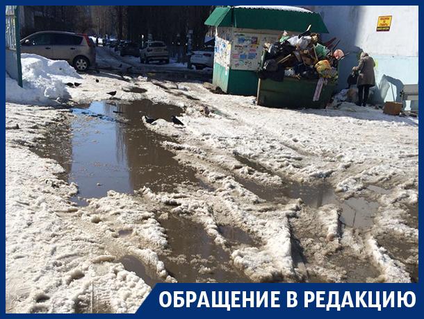 Воронежцам стало стыдно за коммунальщиков в Северном