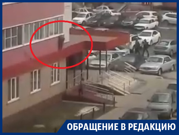 Опасное развлечение детей сняли на видео в Воронеже
