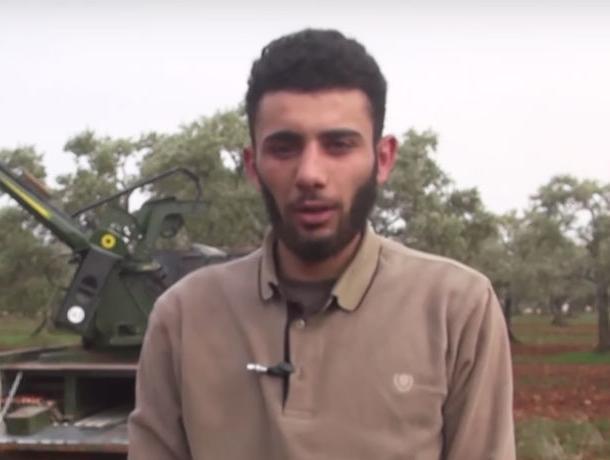 Опубликовано имя и фото боевика, сбившего в Сирии воронежского летчика