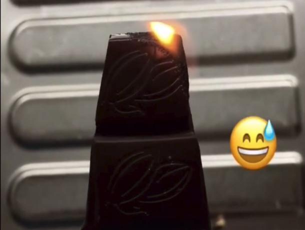 В Воронеже высмеяли «химика», который хотел удивить всех горящим шоколадом