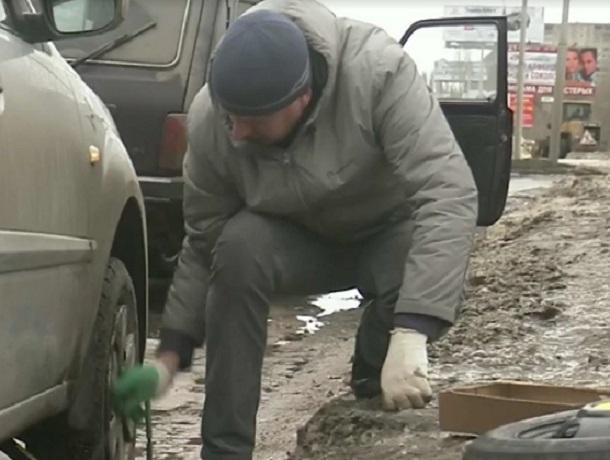 Гражданин Воронежа заставил дорожников платить 180 тыс. руб.