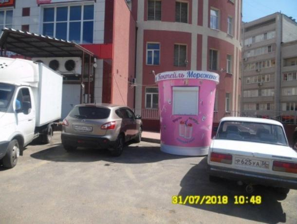 40 киосков пойдут под снос в сентябре в Воронеже