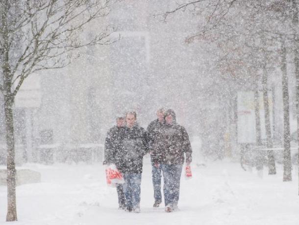 Спасатели предупредили воронежцев об опасном снегопаде на выходных