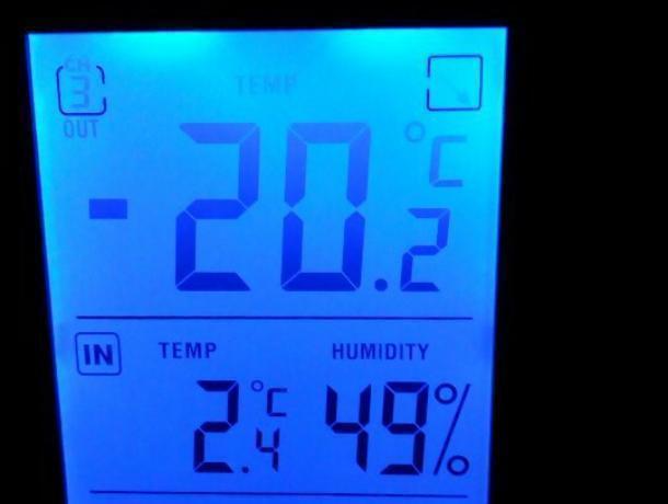 Зима дерзко напомнила о себе воронежцам двадцатиградусным морозом