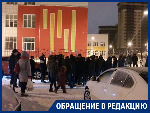 Воронежцы ночами дежурят на улице ради места в новой школе