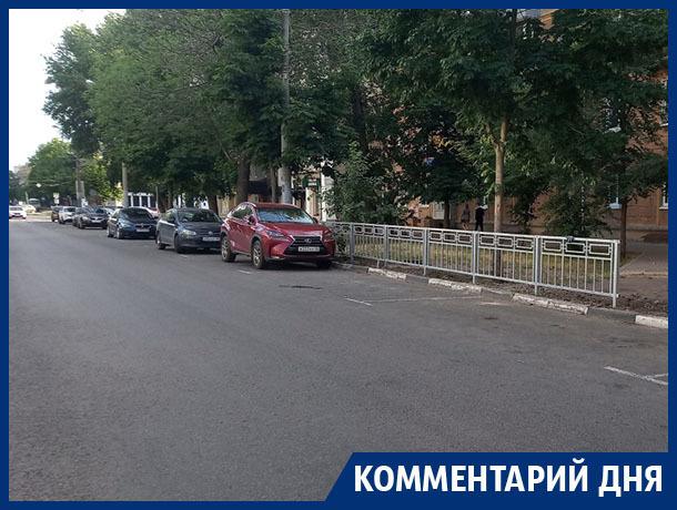 Диссонанс платных парковок с выдумками чиновников показали в Воронеже