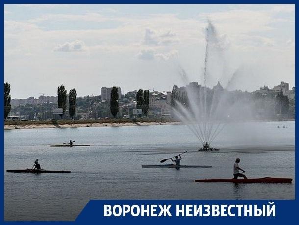 Как на Воронежском водохранилище уничтожили грандиозные фонтаны