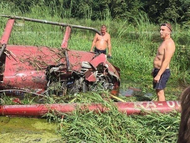 Вжесткой посадке вертолета под Воронежем обвинили пилота