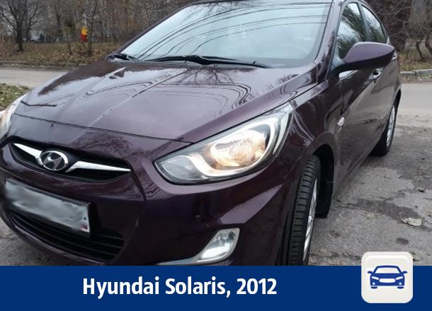 Hyundai Solaris продается в Воронеже