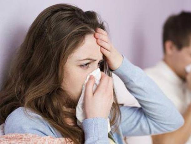 За неделю воронежцы стали ближе к эпидемии гриппа