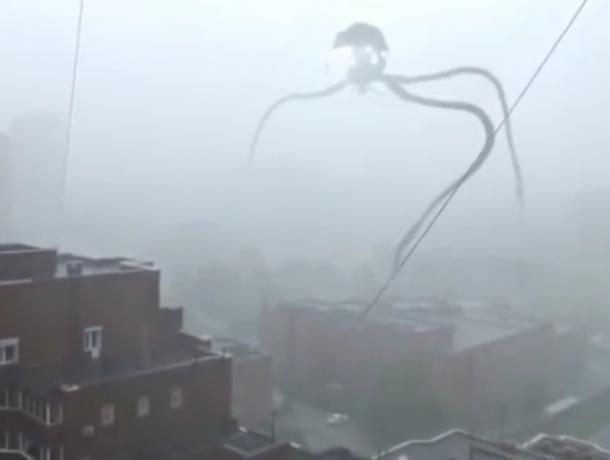 В Воронеже «сняли» на видео атаку жутких инопланетных захватчиков