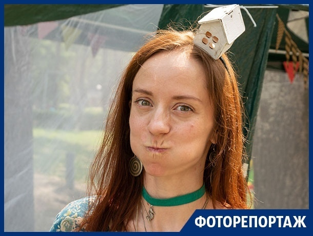 Как развлекались люди на экологическом фестивале в Воронеже