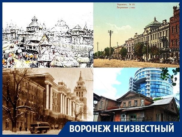 Как несчастья меняли облик Воронежа