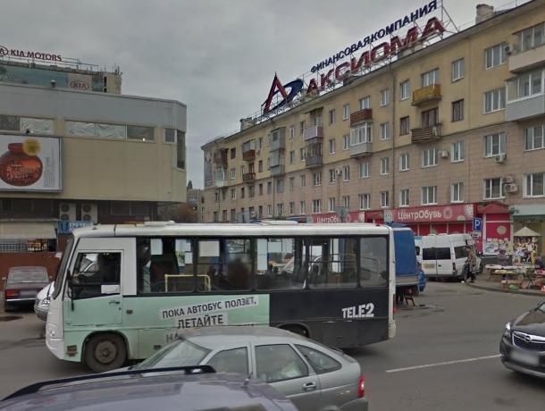 Штрафы за отстой грозят маршрутчикам в Воронеже