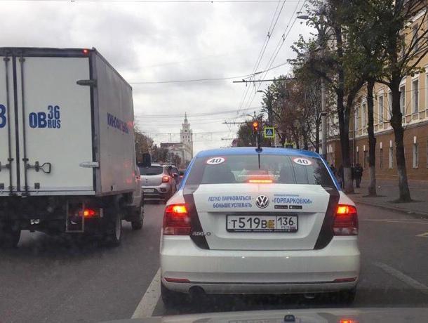 Фотоконтроль платных парковок в Воронеже обманывает коллег