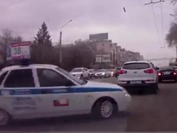 Преследование нарушителя-лентяя в Воронеже попало на видео