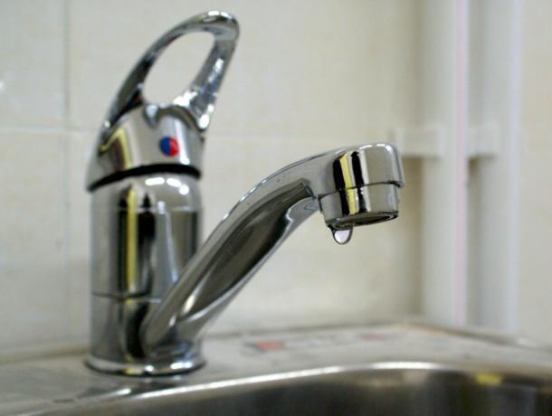 Жители Коминтерновского района Воронежа остались без холодной воды