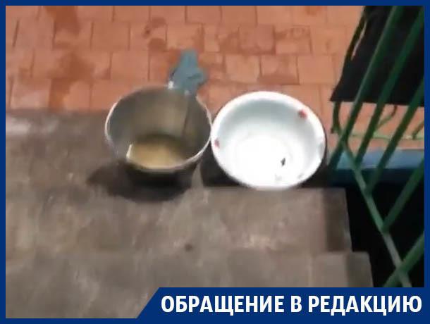 Последствия девятиэтажного потопа показали в Воронеже