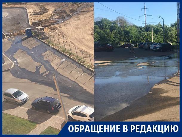 Зловонный ручей грозит катастрофой Центральному парку Воронежа