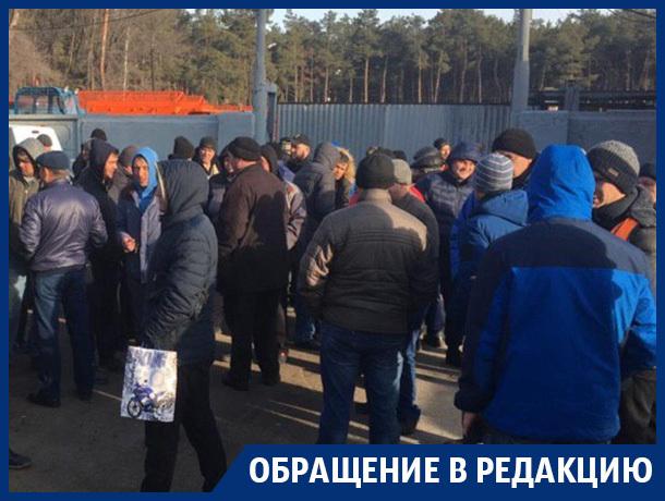 Коммунальщики устроили забастовку в Воронеже