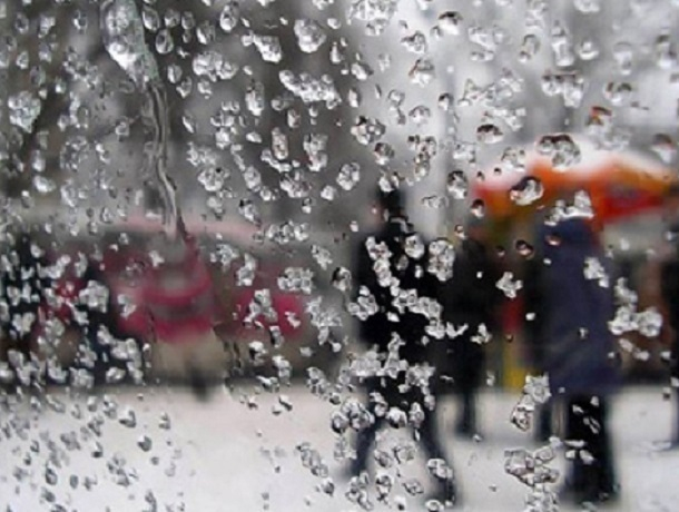 Воронеж нарабочей неделе накроют снегопад идожди