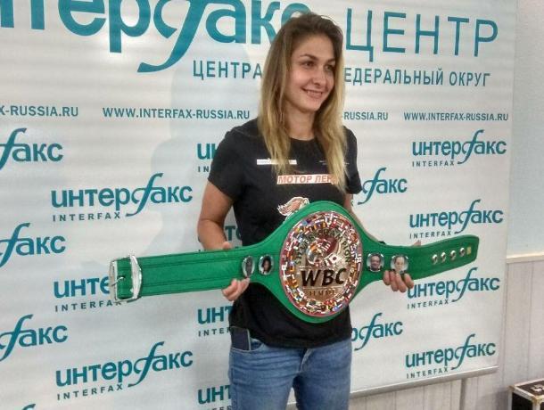 С синяком под глазом пришла на встречу с журналистами боксер Татьяна Зражевская