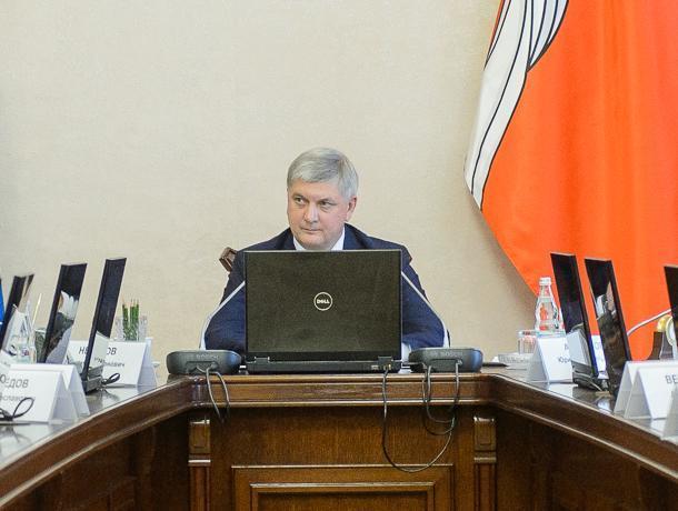 Воронежский губернатор утвердил новую структуру чиновников