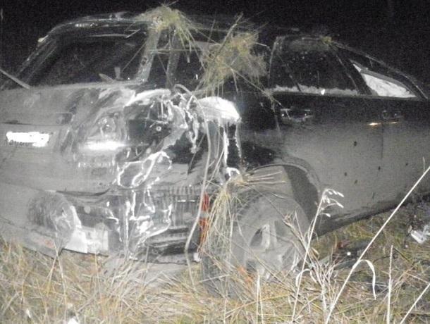 ВВоронежской области натрассе «Дон» умер шофёр «Лексуса»
